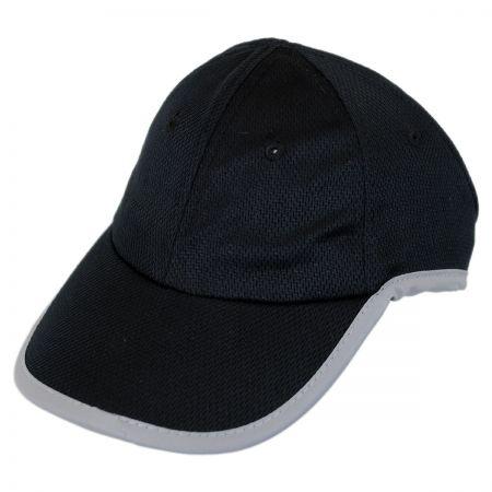 Genie Reflective Open Back Ponytail Baseball Cap