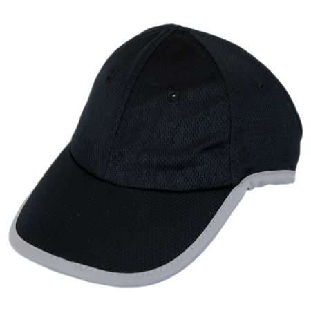 Chic Play Genie Reflective Open Back Ponytail Baseball Cap