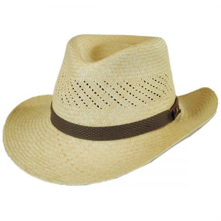 Tommy Bahama Vent Grade 8 Panama Straw Outback Hat