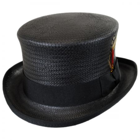 New York Hat Company Toyo Straw Top Hat
