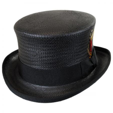 New York Hat Company Toyo Straw Top Hat