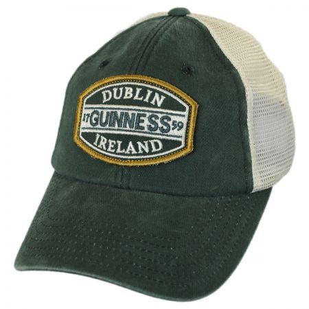 American Needle Guinness Old School Mesh Trucker Snapback Baseball Cap