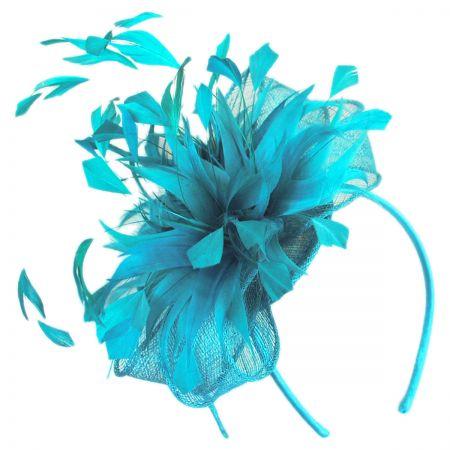 Scala Wilde Straw Fascinator Headband