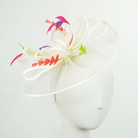 Scala Charades Mesh Fascinator Headband
