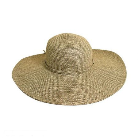Scala PB 5-Inch Brim Toyo Straw Sun Hat
