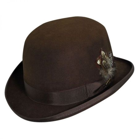 Stacy Adams Wool Felt Derby Hat