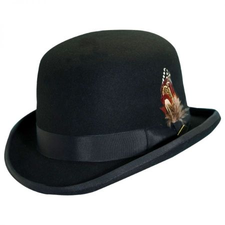 Wool Felt Derby Hat