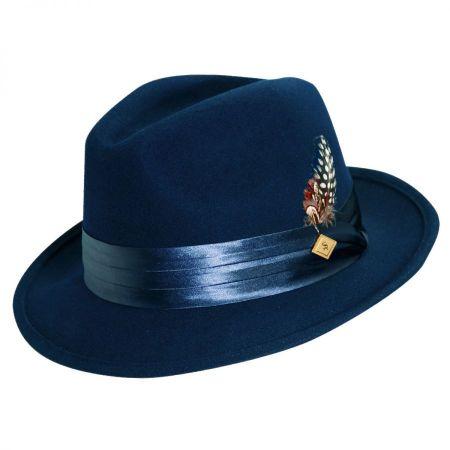 Crushable Wool Felt Fedora Hat alternate view 10