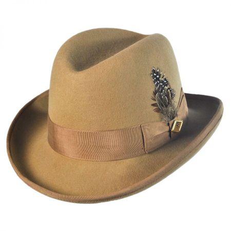 Stacy Adams Homburg Hat