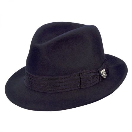 Stacy Adams Stitch Band Fedora Hat