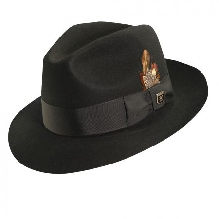 Stacy Adams Cannery Row Fedora Hat