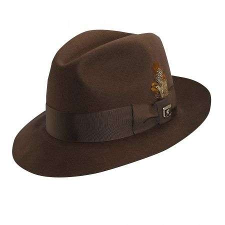 Stacy Adams Cannery Roy Fedora Hat