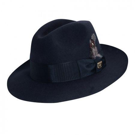 Stacy Adams Cannery Row Wool Felt Fedora Hat