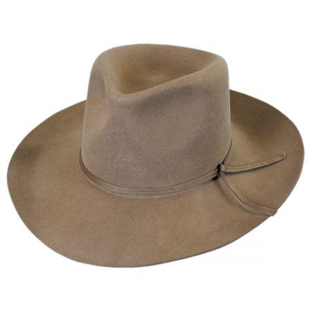 Brixton Hats Las Cruces Wool Felt Fedora Hat
