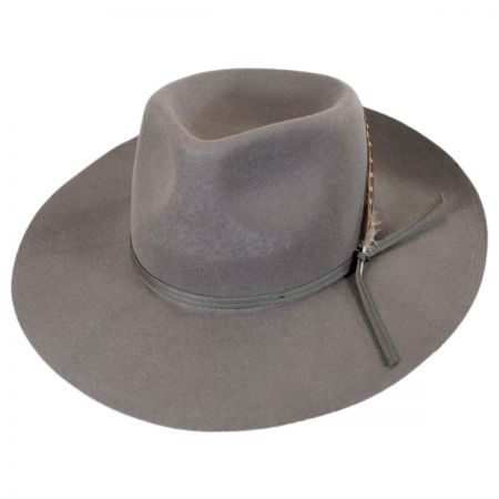Brixton Hats Topeka Wool Felt Fedora Hat