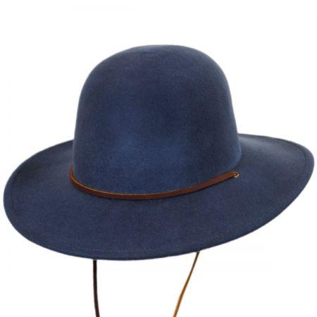 Tiller Packable Wool Felt Wide Brim Hat alternate view 4