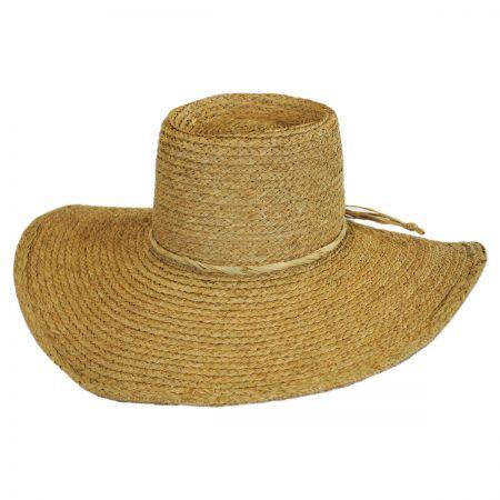 Brixton Hats Paite Raffia Straw Sun Hat