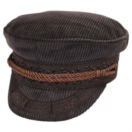 Brixton Hats Albany Corduroy Fisherman's Cap