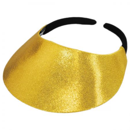 No Headache Shimmer Midsize Visor