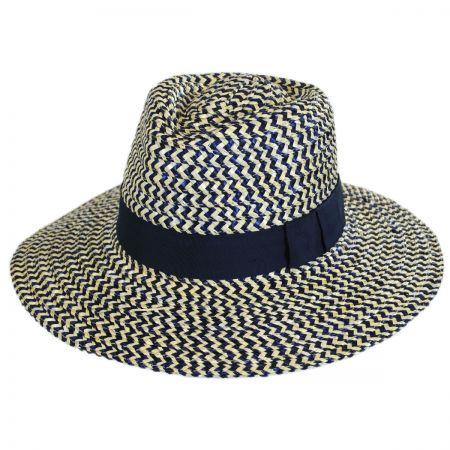 Brixton Hats Joanna Straw Fedora Hat