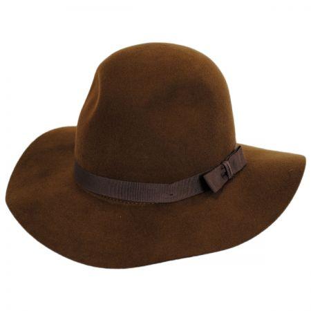 Brown Fedora at Village Hat Shop 47148a090