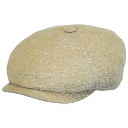 Stetson Linen and Silk Newsboy Cap