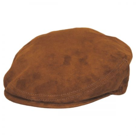 Stetson Goat Suede Leather Ivy Cap