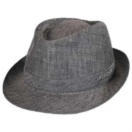 Osceola Linen Fedora Hat alternate view 13