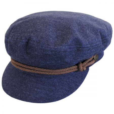 Brixton Hats Cotton Fiddler Cap