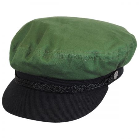 Brixton Hats Two-Tone Cotton Fiddler Cap