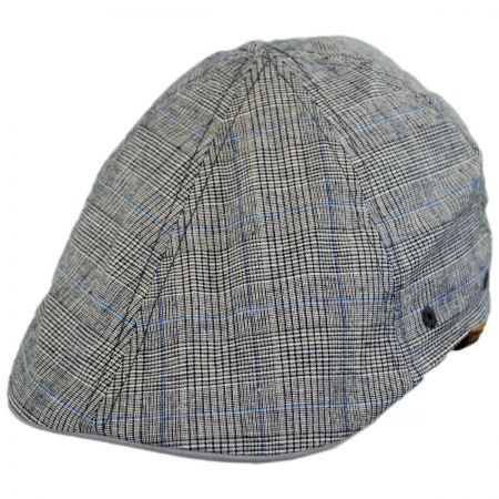 Kangol Flexfit Prince Plaid Cotton Duckbill Ivy Cap