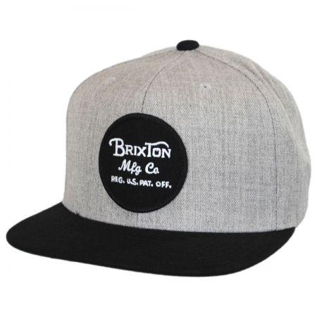 Brixton Hats Wheeler Snapback Baseball Cap