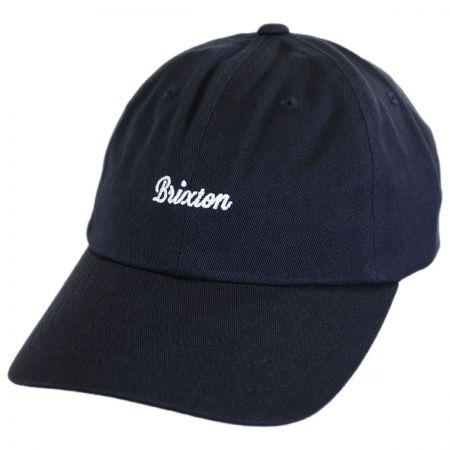 Brixton Hats Watkins LoPro Strapback Baseball Cap