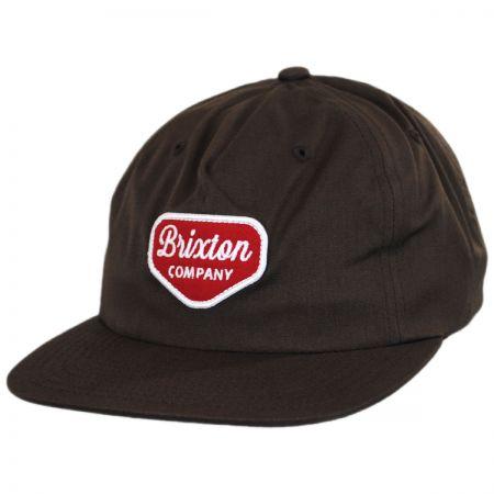 Brixton Hats Novato 5-Panel Snapback Baseball Cap