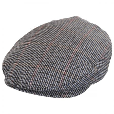 Brixton Hats Barrel Plaid Wool Blend Ivy Cap