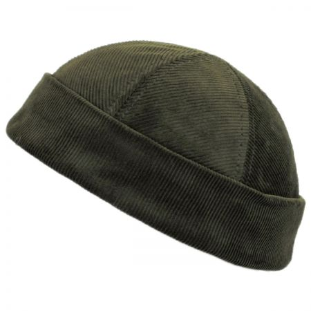 Six Panel Corduroy Skull Cap Beanie Hat alternate view 4