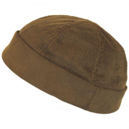 New York Hat Company Six Panel Corduroy Skull Cap Beanie Hat