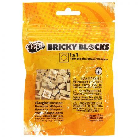 Bricky Blocks 1x1 Block 100 Pack alternate view 49
