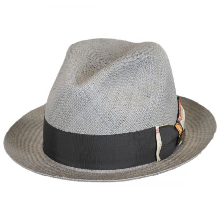 Biltmore Chronicle Panama Straw Fedora Hat