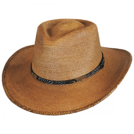 Biltmore Freemont Palm Straw Outback Western Hat