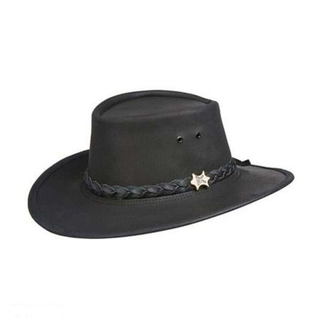 Stockman Smooth Leather Outback Hat alternate view 6