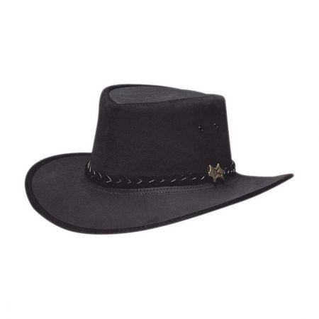 fa5bf5f3e Stockman Suede Outback Hat