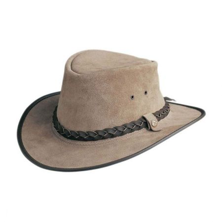Traveller H2O Proof Suede Outback Hat