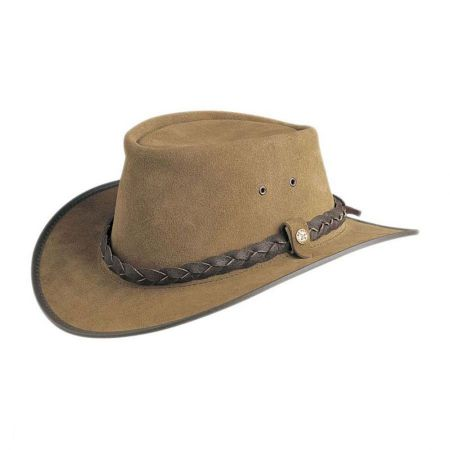 BC Hats Traveller H2O Proof Suede Outback Hat