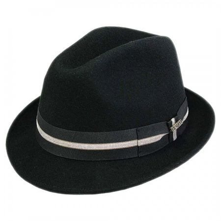 Boston Wool Felt Trilby Fedora Hat alternate view 1