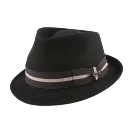 Bigalli Boston Stingy Brim Fedora Hat