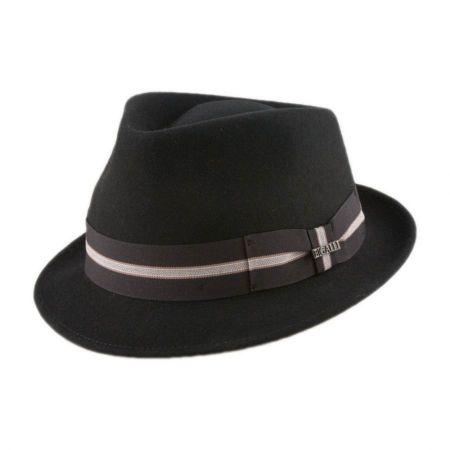 Boston Wool Felt Trilby Fedora Hat alternate view 3