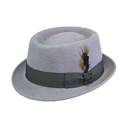 Bigalli Stingy Brim Wool Felt Pork Pie Hat