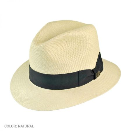 Quito Panama Straw Fedora Hat alternate view 1