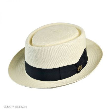 Montego Panama Straw Pork Pie Hat alternate view 1